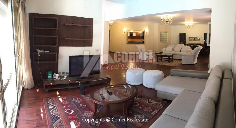 Apartment For Rent In Katameya Heights,Furnished,Apartment NO #5