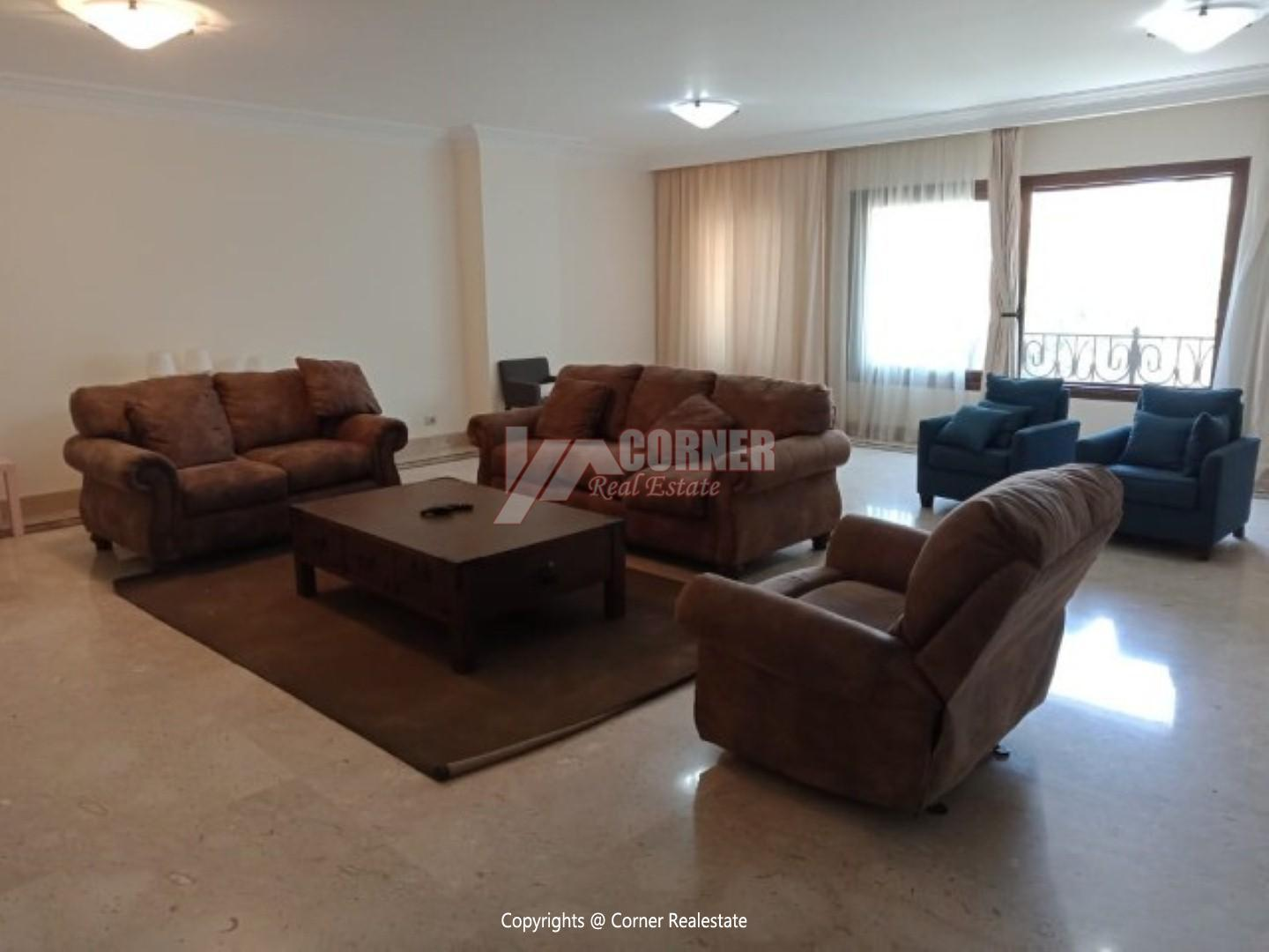 Modern Apartment For Rent In Maadi Degla,Modern Furnished,Apartment NO #1