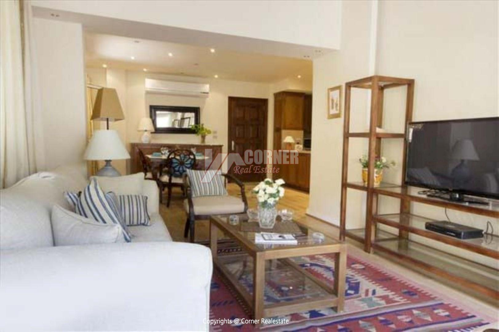 Ground Floor For Rent in Maadi Sarayat,Modern Furnished,Ground Floor NO #4