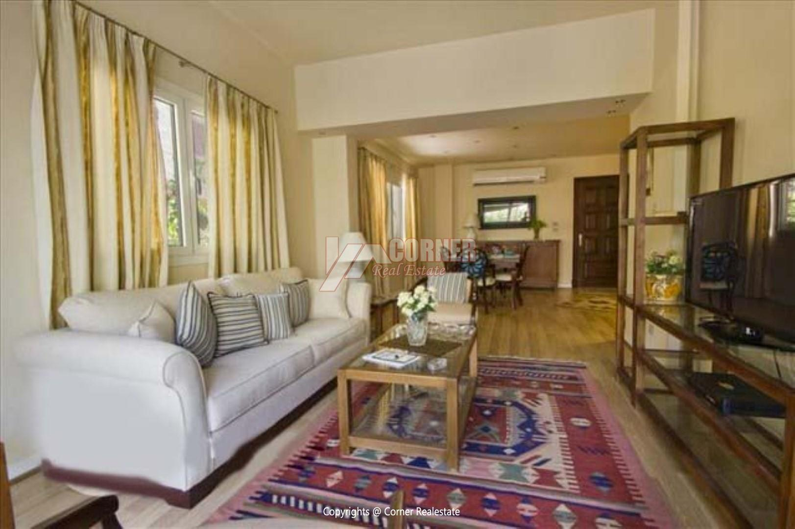 Ground Floor For Rent in Maadi Sarayat,Modern Furnished,Ground Floor NO #2