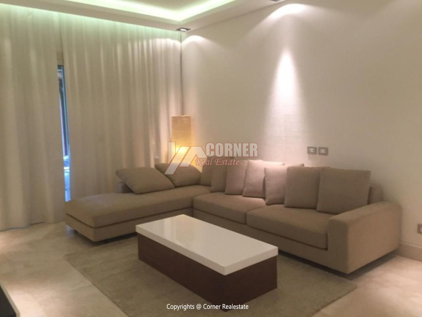 Apartment For Rent In katameya Heights,Modern Furnished,Apartment NO #5