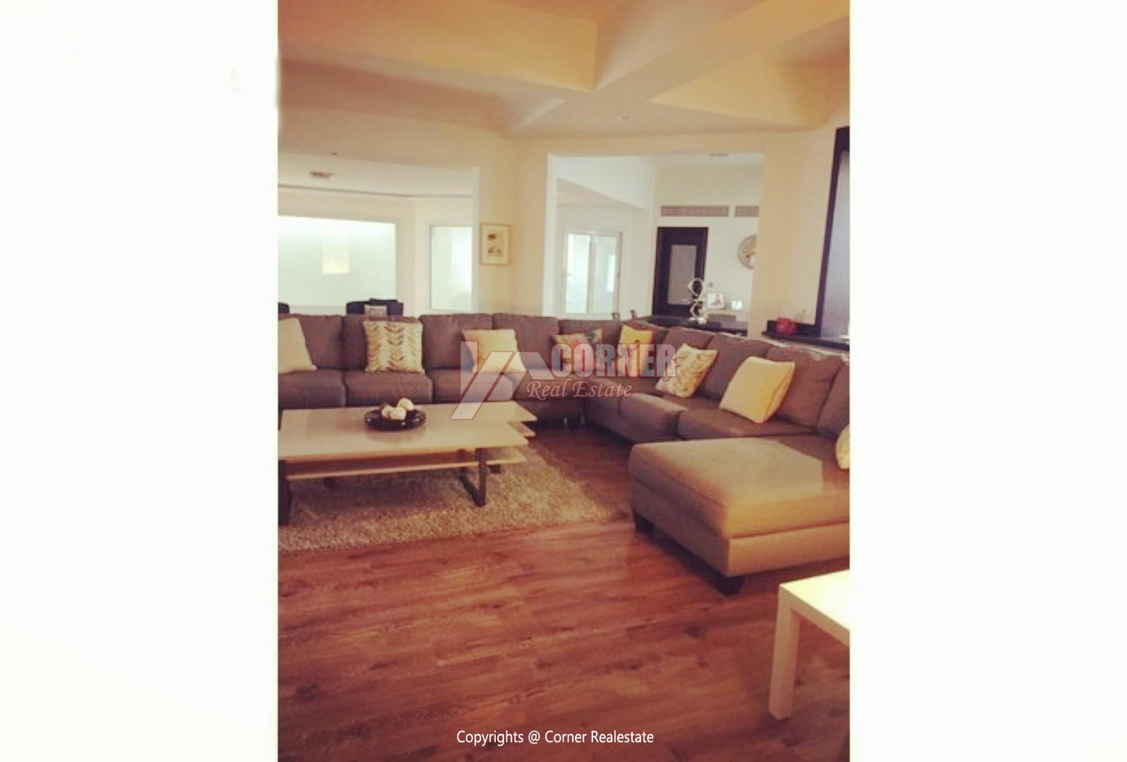 Apartment For Rent In katameya Heights,Modern Furnished,Apartment NO #4