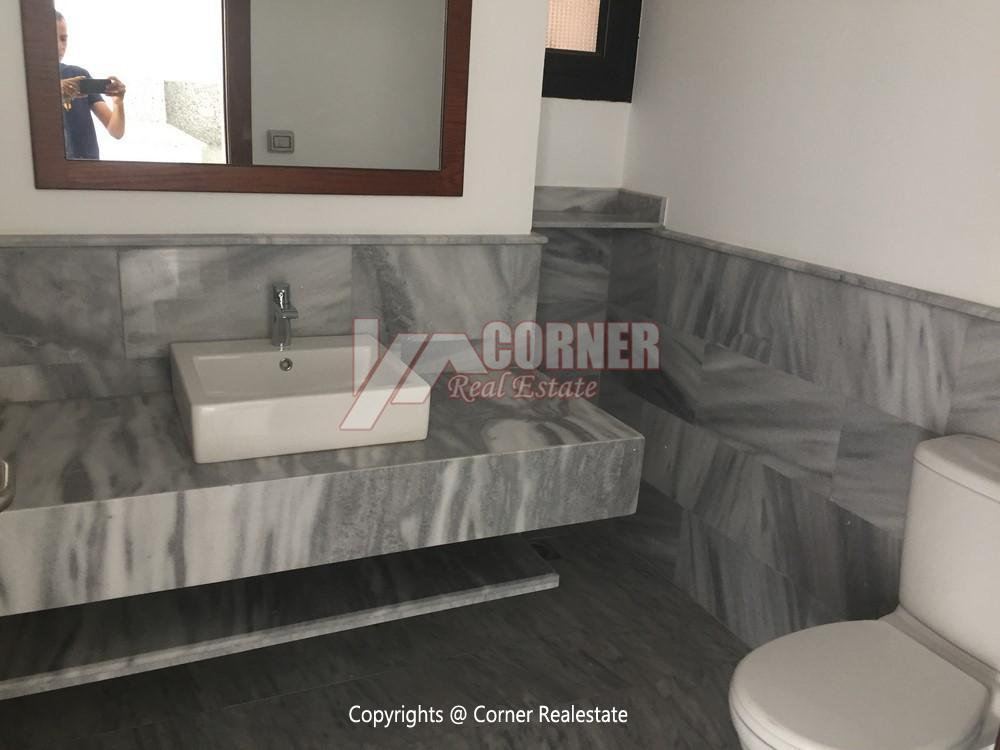 Apartment For Rent in West Golf New Cairo,Semi furnished,Apartment NO #16