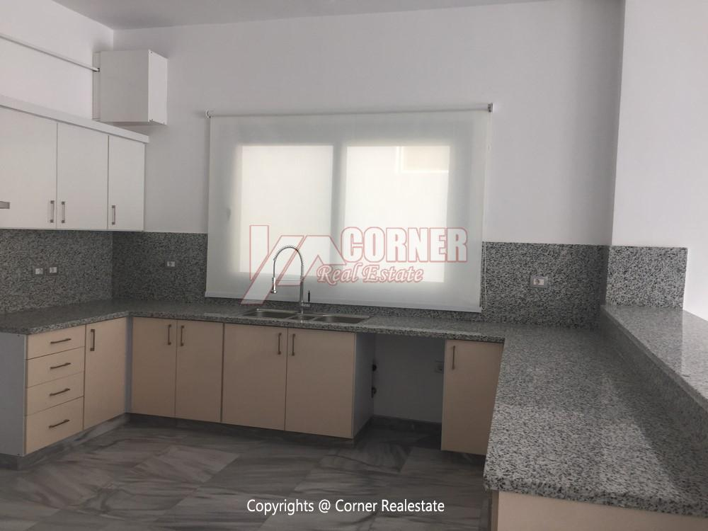 Apartment For Rent in West Golf New Cairo,Semi furnished,Apartment NO #2