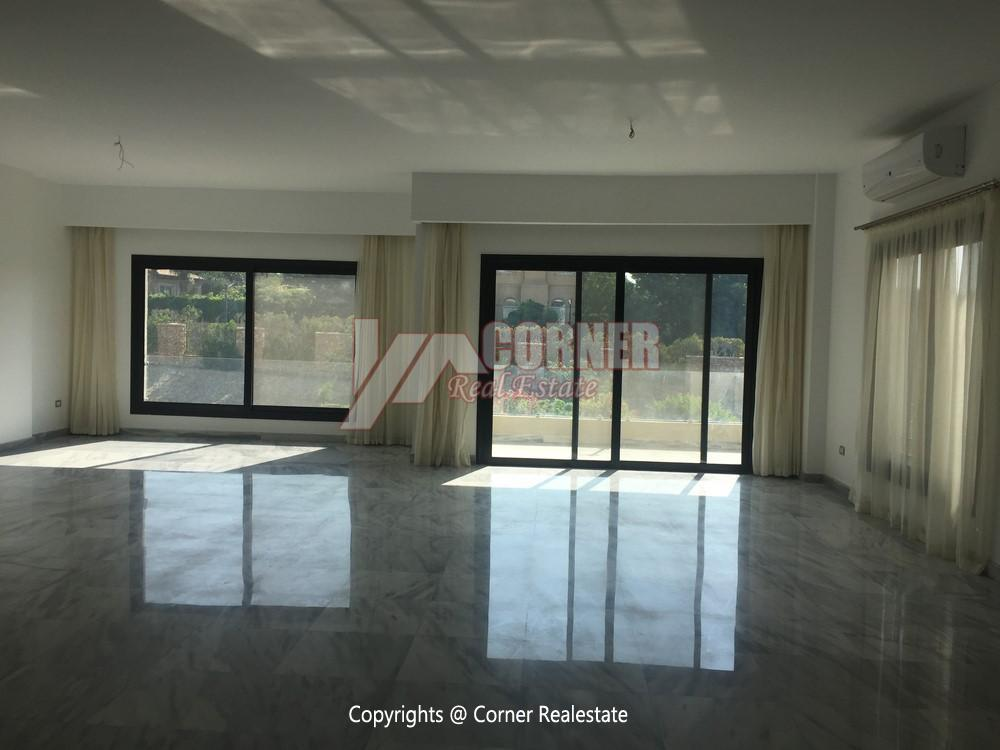 Apartment For Rent in West Golf New Cairo,Semi furnished,Apartment NO #23