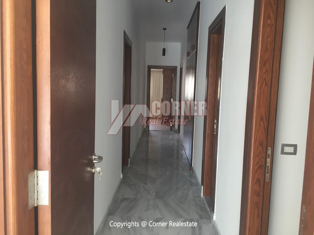 Apartment For Rent in West Golf New Cairo,Semi furnished,Apartment NO #25