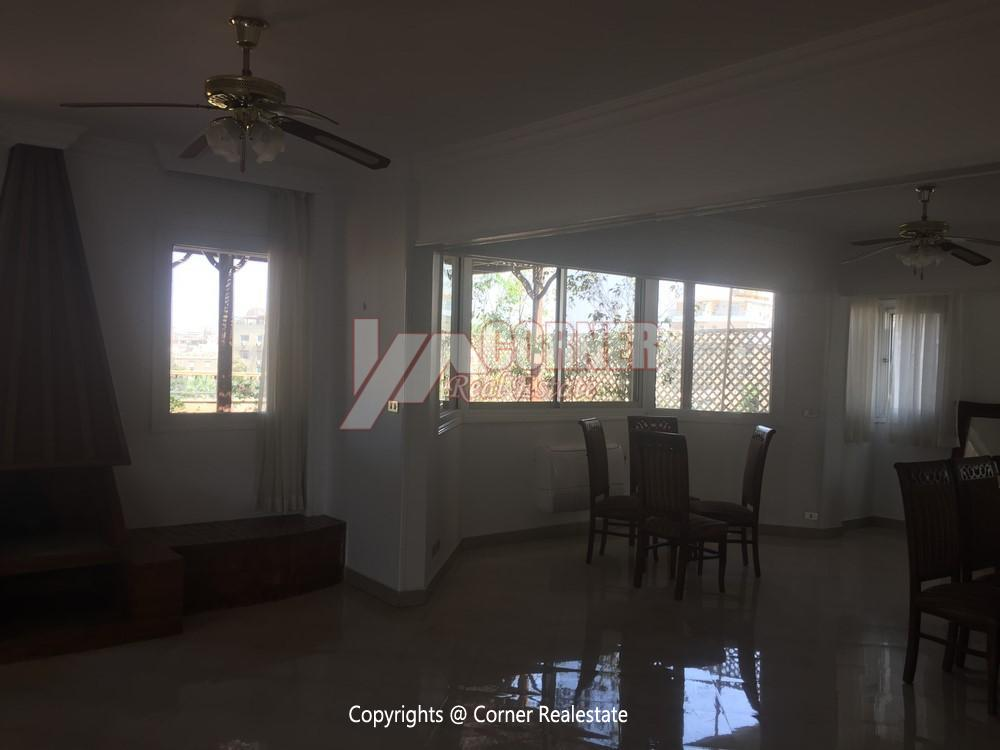 Penthouse For Rent In Maadi Degla,Semi furnished,Penthouse NO #8