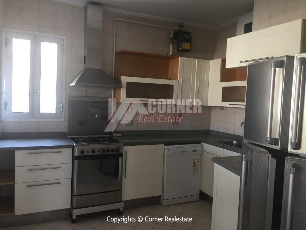 Penthouse For Rent In Maadi Degla,Semi furnished,Penthouse NO #3