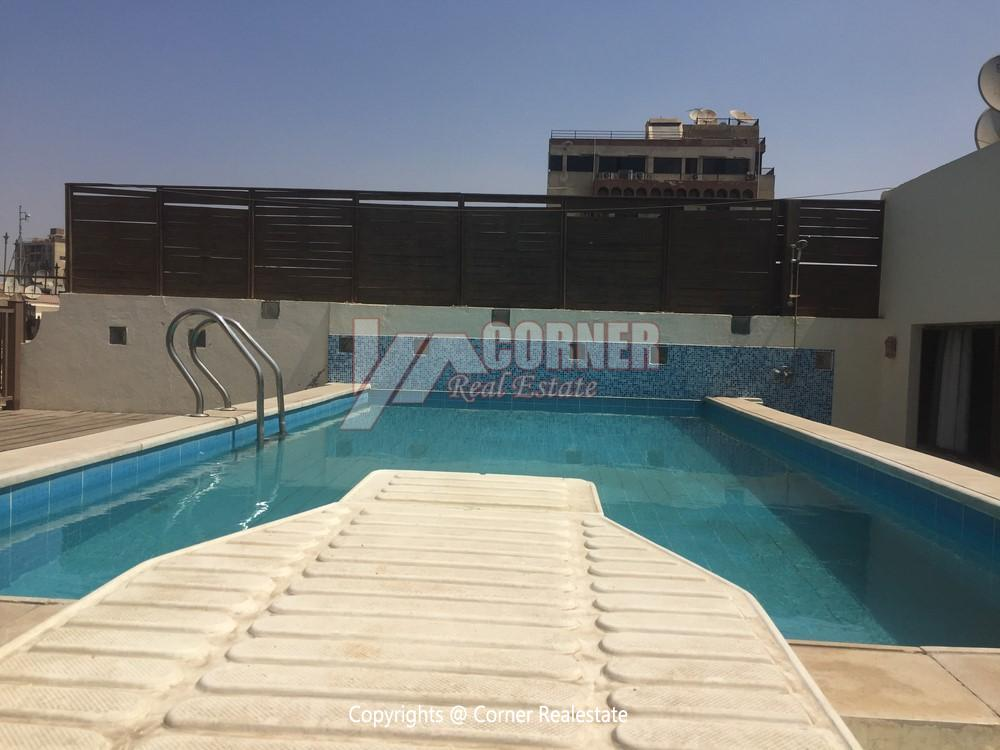 Penthouse For Rent In Maadi Sarayat,Semi furnished,Penthouse NO #13