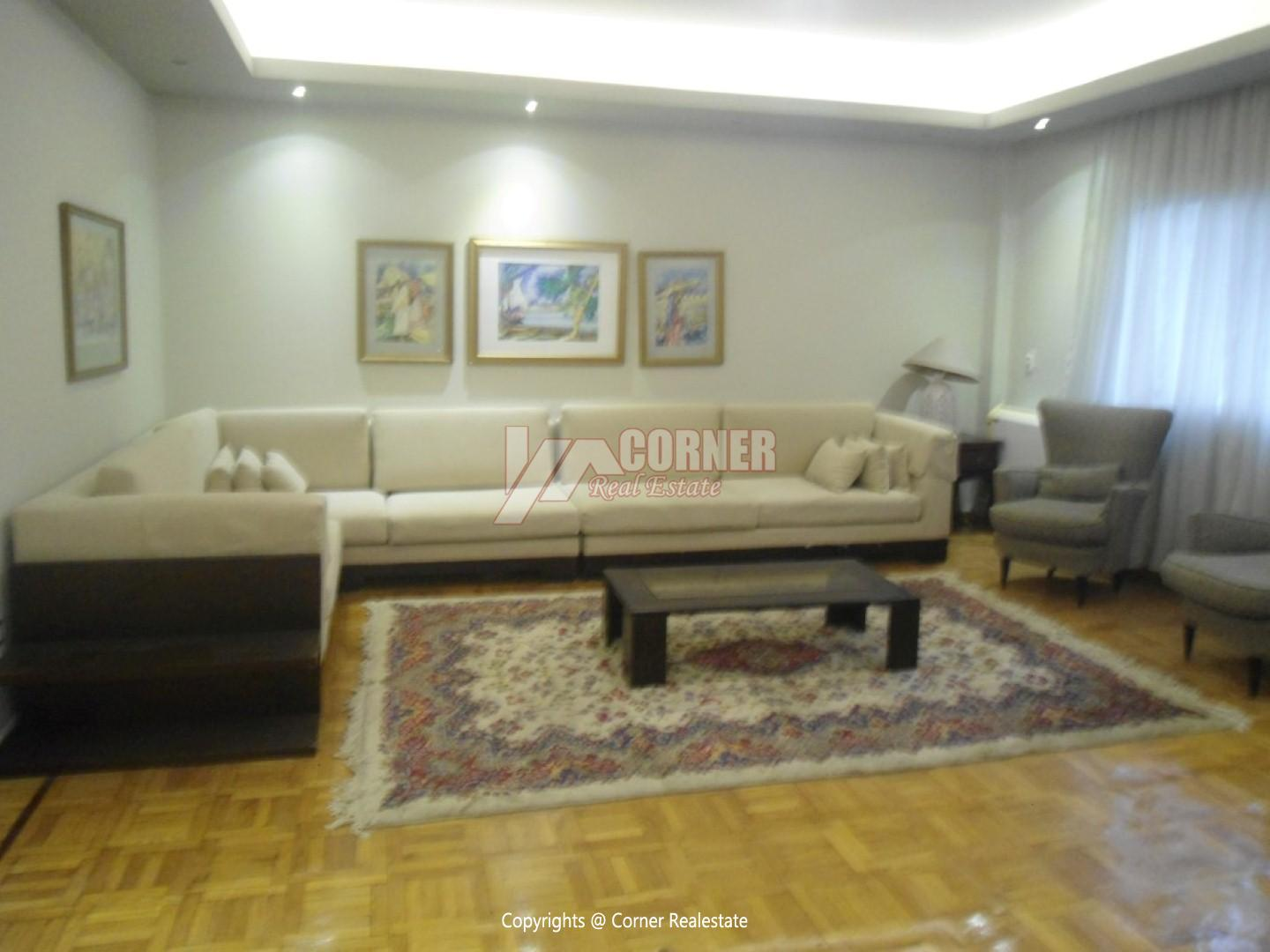 Modern Apartment For Rent In Maadi Sarayat,Modern Furnished,Apartment NO #10