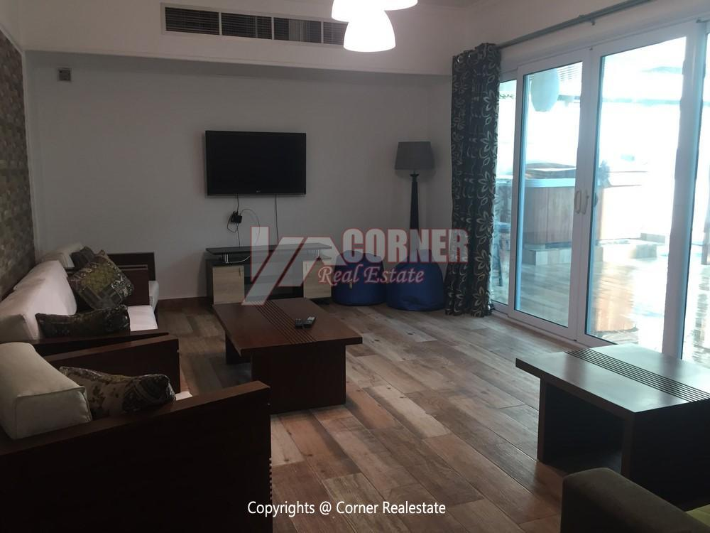 Apartment For Rent In Katameya Heights,Modern Furnished,Apartment NO #18