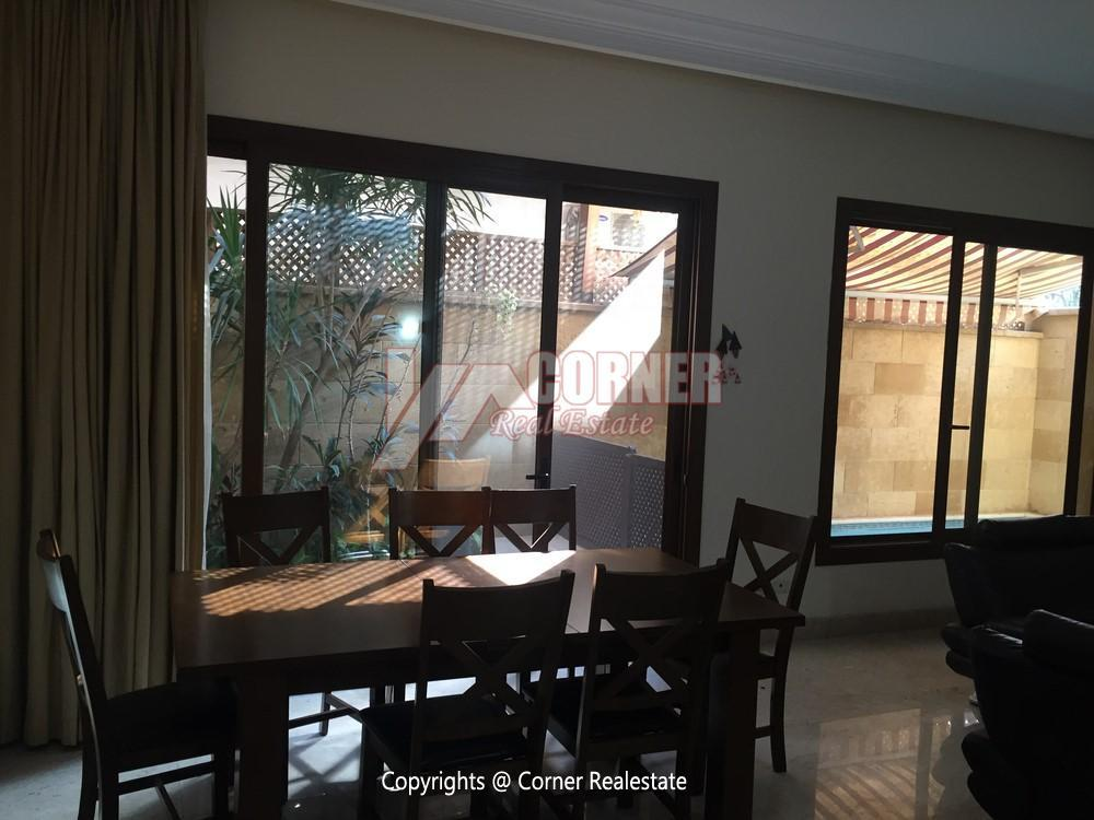 Ground Floor For Rent in Maadi,Furnished,Ground Floor NO #17