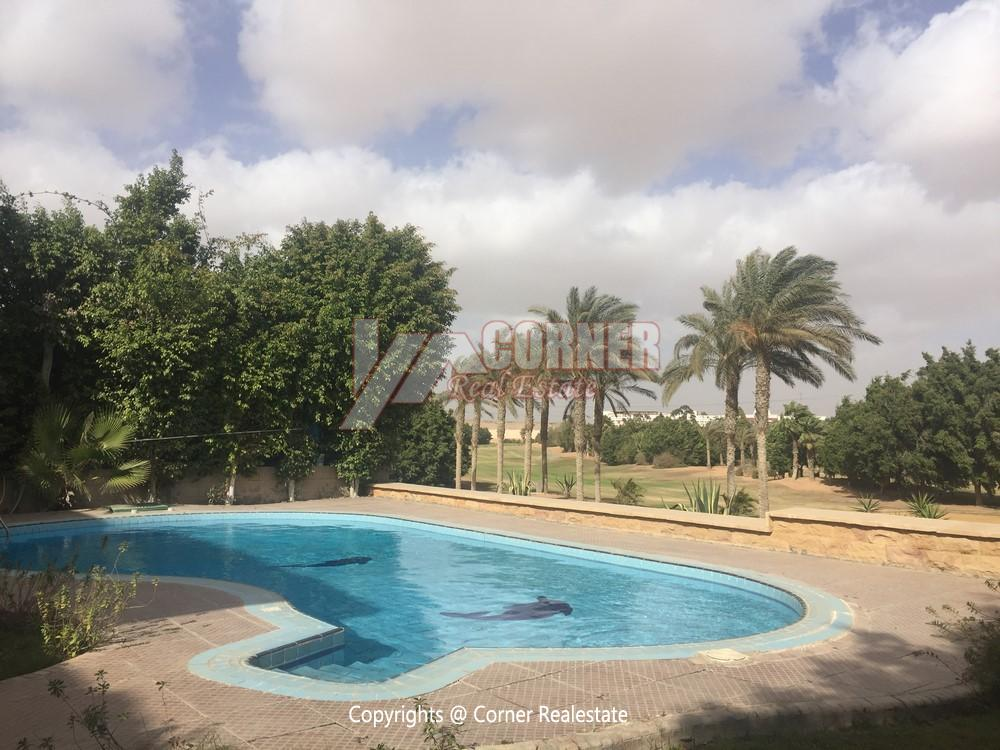 Villa For Rent in Mirage City Golf View,Furnished,Villa NO #18
