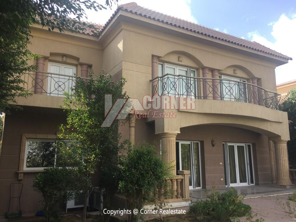 Villa For Rent in Mirage City Golf View,Furnished,Villa NO #19
