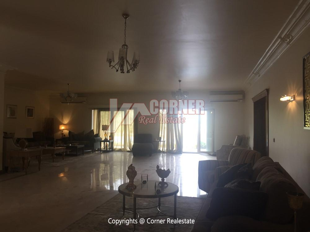 Villa For Rent in Mirage City Golf View,Furnished,Villa NO #24
