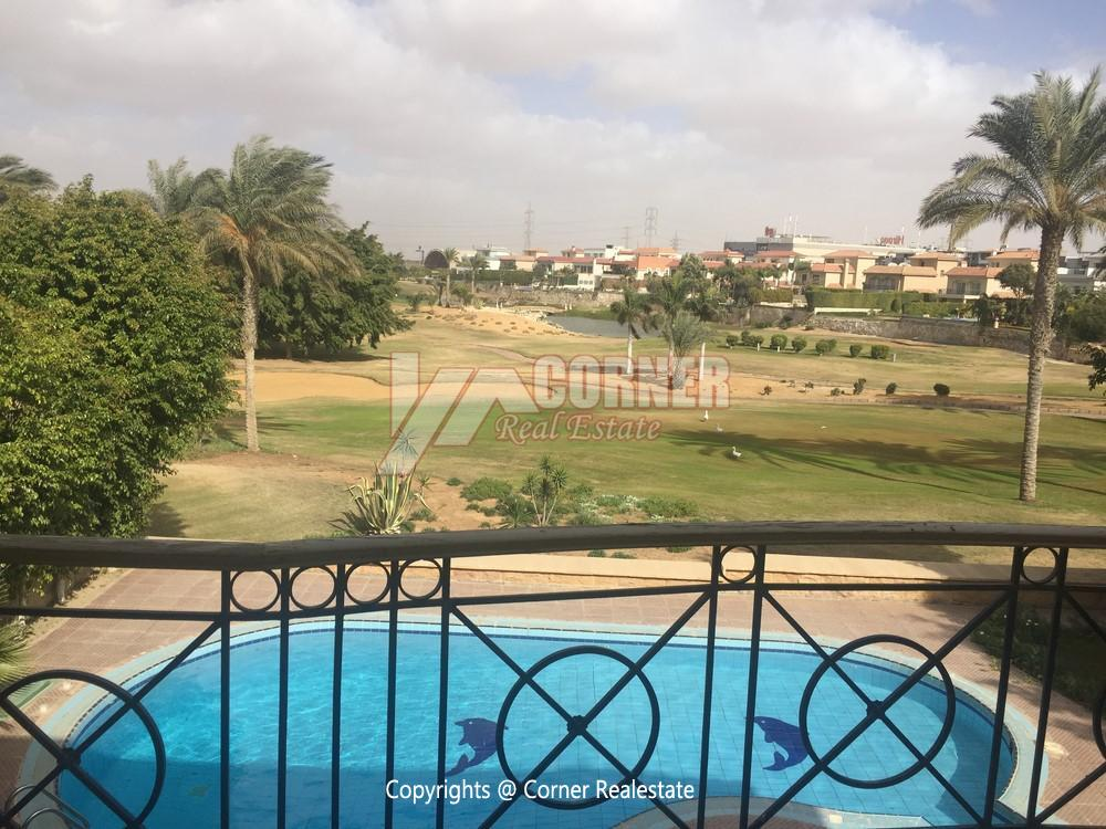 Villa For Rent in Mirage City Golf View,Furnished,Villa NO #28