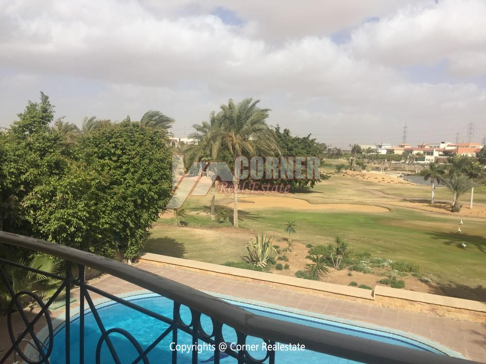 Villa For Rent in Mirage City Golf View,Furnished,Villa NO #16