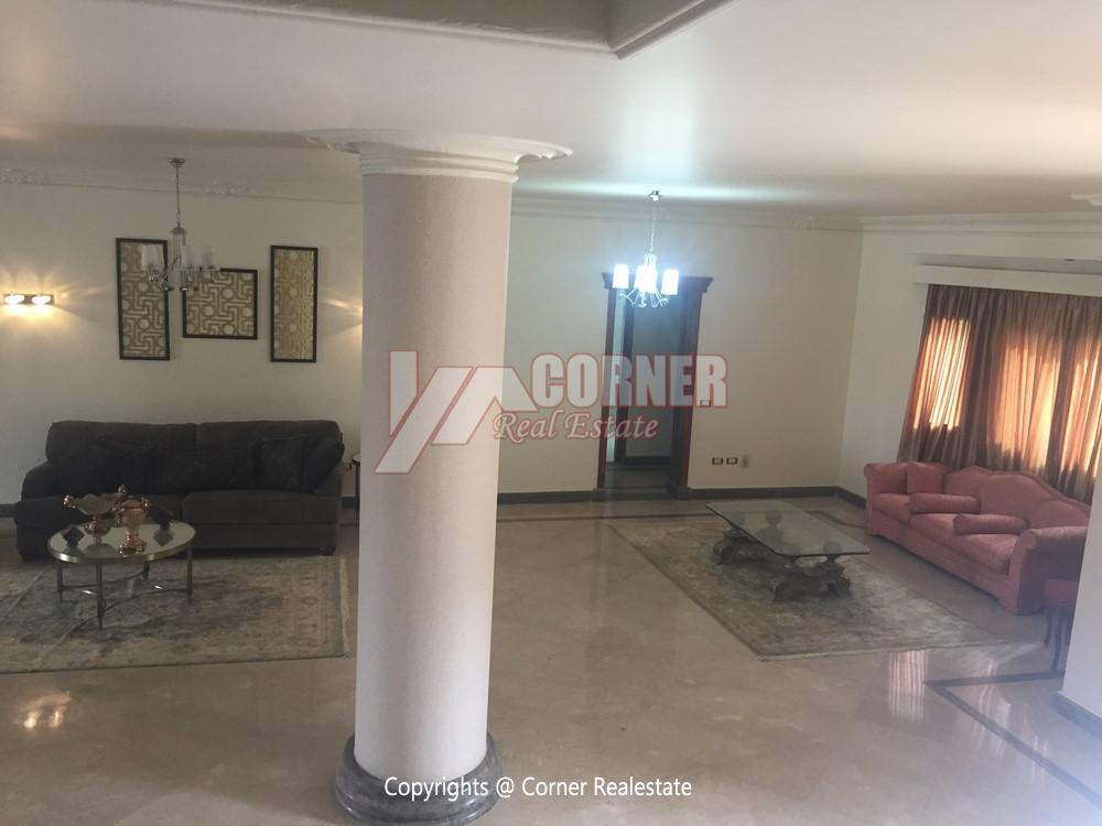 Villa For Rent in Mirage City Golf View,Furnished,Villa NO #13