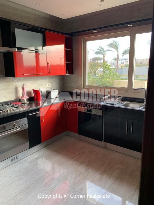 Villa For Rent in New Cairo,Modern Furnished,Villa NO #6