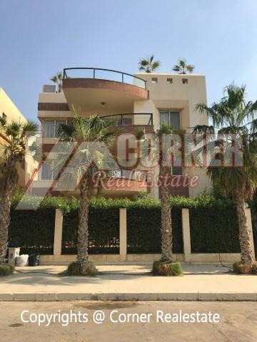 Apartment for rent in West Golf New Cairo