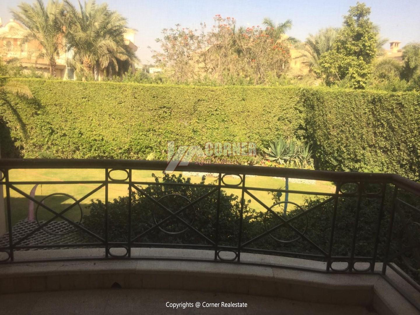 Villa For Rent In Katameya Heights New Cairo