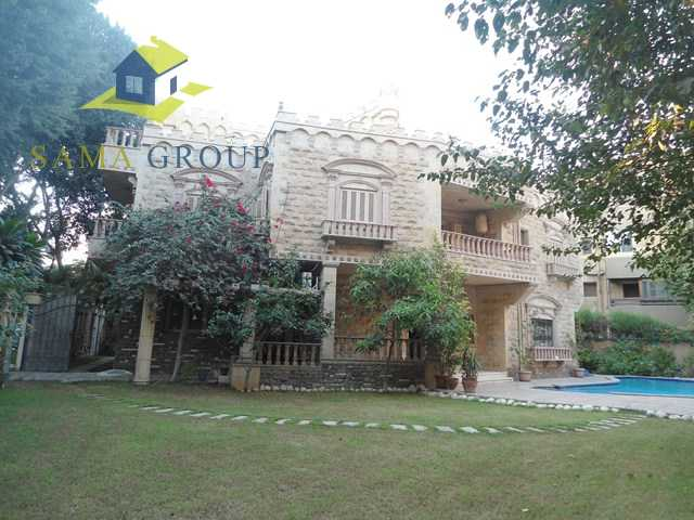 Private Villa  With Pool For Rent In Maadi