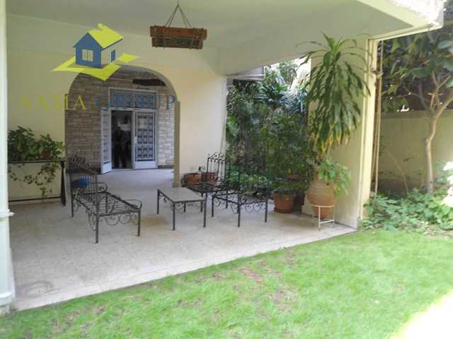 Semi Furnished Ground Floor Duplex For Rent In Maadi