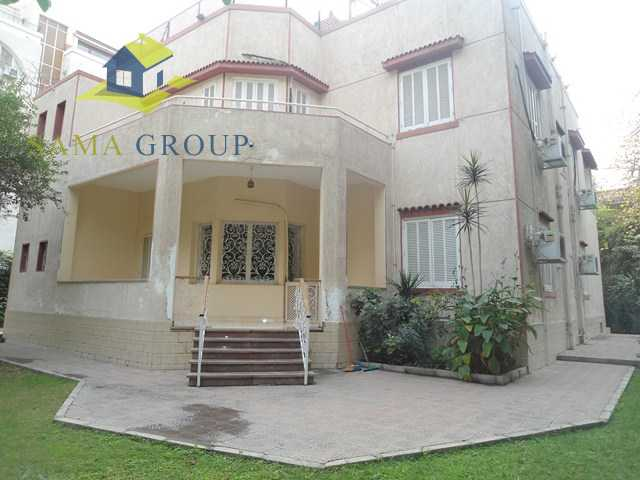 Semi Furnished Excellent Villa With Pool For Rent In Maadi