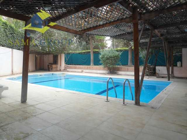 Modern Furnished Ground Floor With  Pool For Rent In Maadi