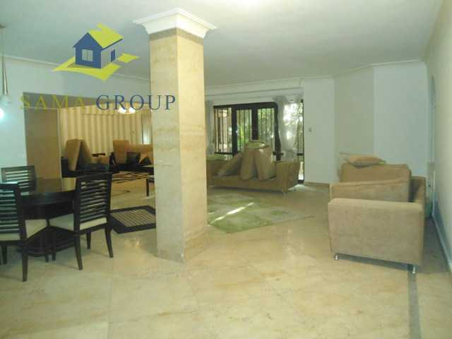 Modern Furnished Ground Floor With  Pool For Rent In Maadi,Furnished,Ground Floor NO #6