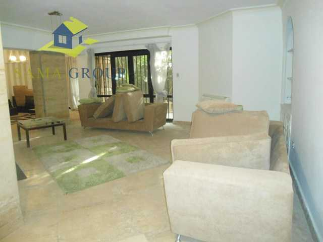 Modern Furnished Ground Floor With  Pool For Rent In Maadi,Furnished,Ground Floor NO #5