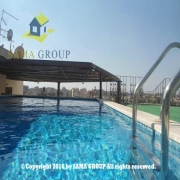 Modern Furnished Penthouse With Pool For Rent In Maadi