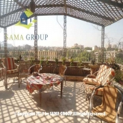 Furnished Rof top apartment For Rent In Maadi