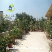 Semi Furnished Roof top For Rent In Maadi