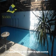 Semi Furnished Ground Floor Duplex With Pool For Rent In Maadi