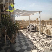 Modern Furnished Roof top- penthouse For Rent In Maadi